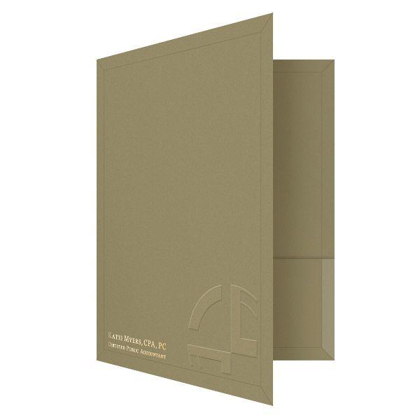 Folder Design: Katie Myers Accounting Presentation Folder ...