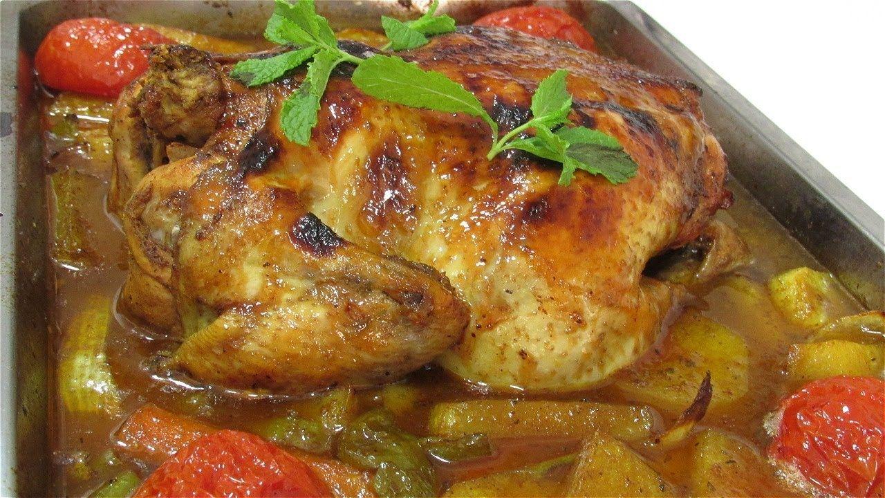 اطيب تتبيلة دجاج مشوي تخلية يذوب في الفم تبسي دجاج بالبطاطا وطعم غير Food Chicken Meat