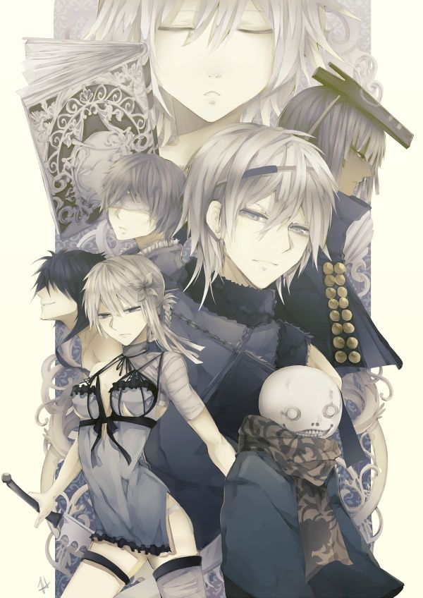 Pin by Hikikomori Kazu on Nier Replicant, Gestalt   Anime, Anime images, Artist