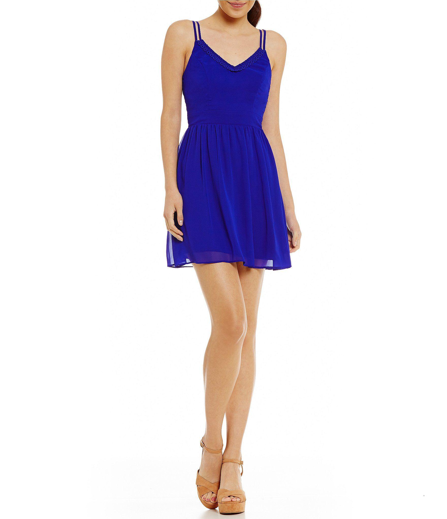 Shop for b darlin doublestrap fitandflare dress at dillards