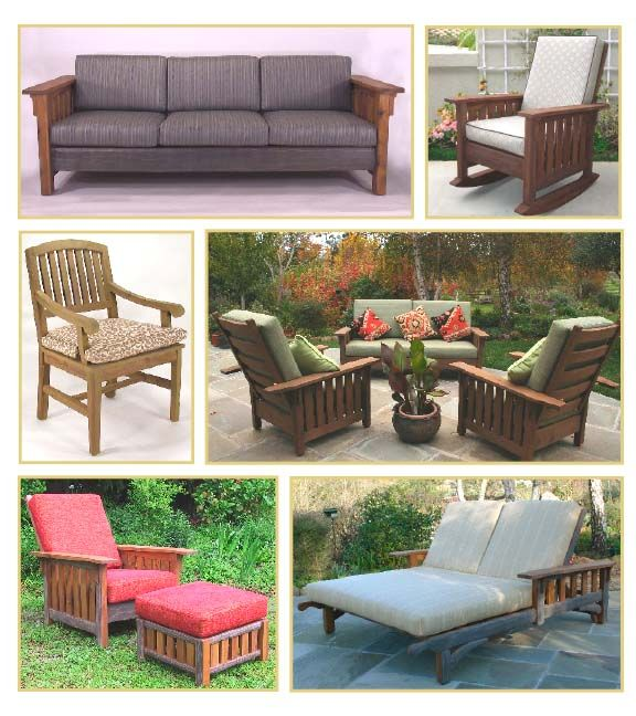 Washoe Collection in the Craftsman tradition. Craftsman StyleOutdoor  FurnitureGarden ... - Reed Bros. Washoe Collection In The Craftsman Tradition. Reed Bros
