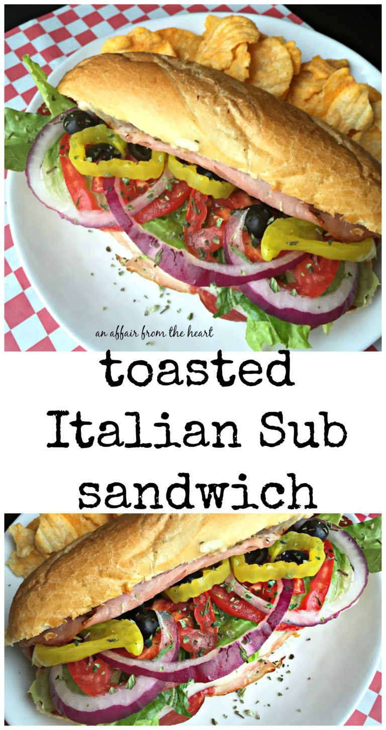 Photo of Toasted Italian Sub Sandwiches – Quick Food Fix