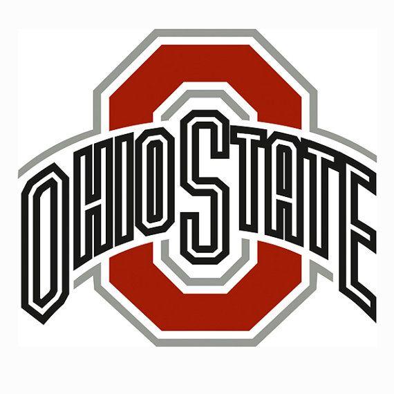 ohio state buckeyes logo svg vector svg eps dxf jp cricut rh pinterest com Ohio State Logo Transparent Background ohio state o logo vector