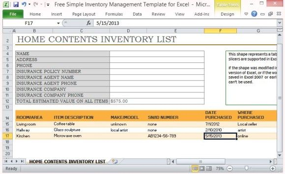 Landlord inventory Template Unfurnished Inventory in 2018 Pinterest