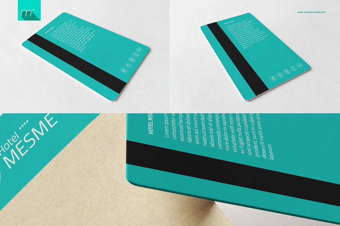 Hotel Key Card Holder Mock Up Hotel Key Cards Key Card Holder