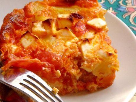 FRITTATA DE CHORIZO Y TOMATES  Receta italiana para cocinar con niños