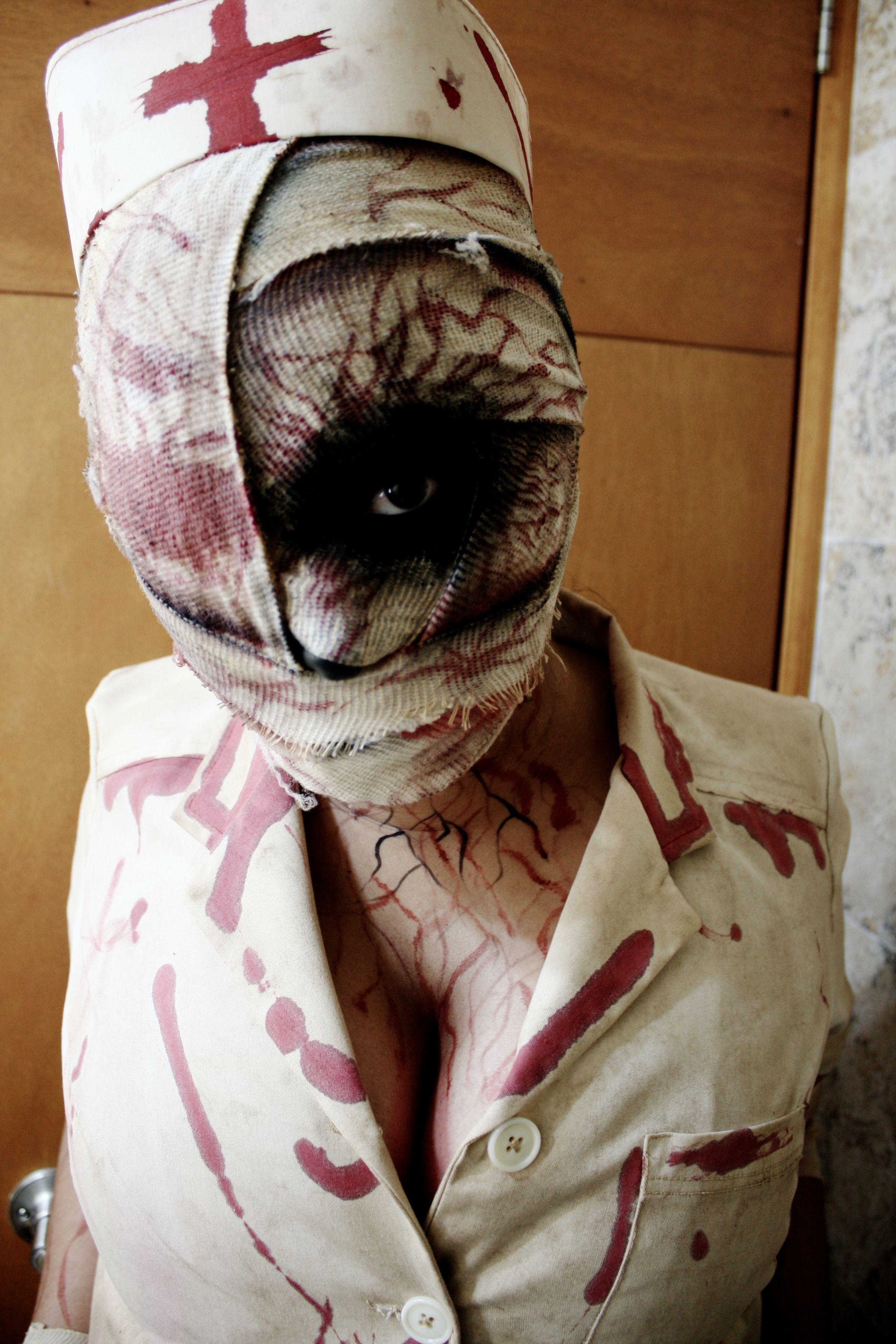 0a4155a0c2960 Silent Hill Halloween Costume & DIY Halloween - Silent Hill Nurse ...