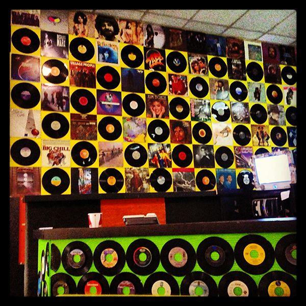 Wall Of Records Decor Holiday Decor Vinyl Art