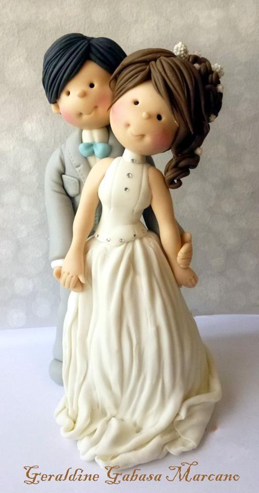 Such A Cute Alternative For S Wedding Cake Topper