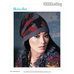 Hobo Hat Vogue Knitting Designed By Stefanie Japel Cute Knit
