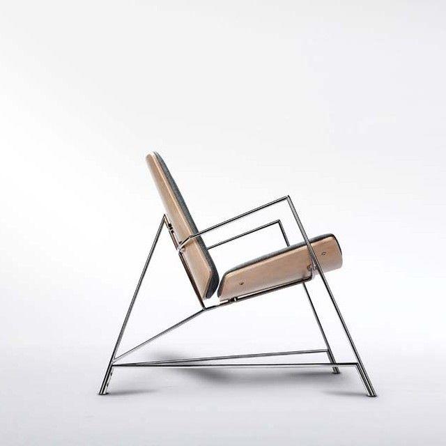 minimal furniture. thale lounger by munkii minimalism minimal minimalist furniture chair leibal