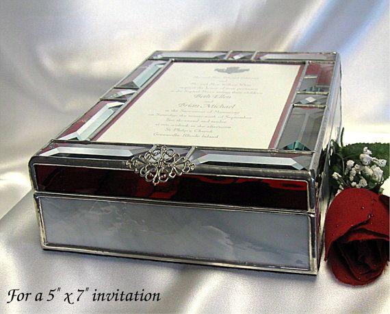 Gift Box Wedding Invitations: High End Wedding Invitations Box