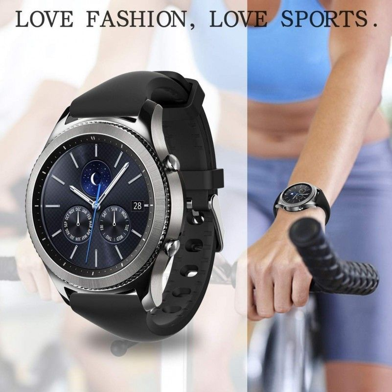 c8674cf9564 Samsung Gear S3 Watch Band Silicone For Women for Samsung Gear s3 Frontier  s3 (5pack) Best Buy
