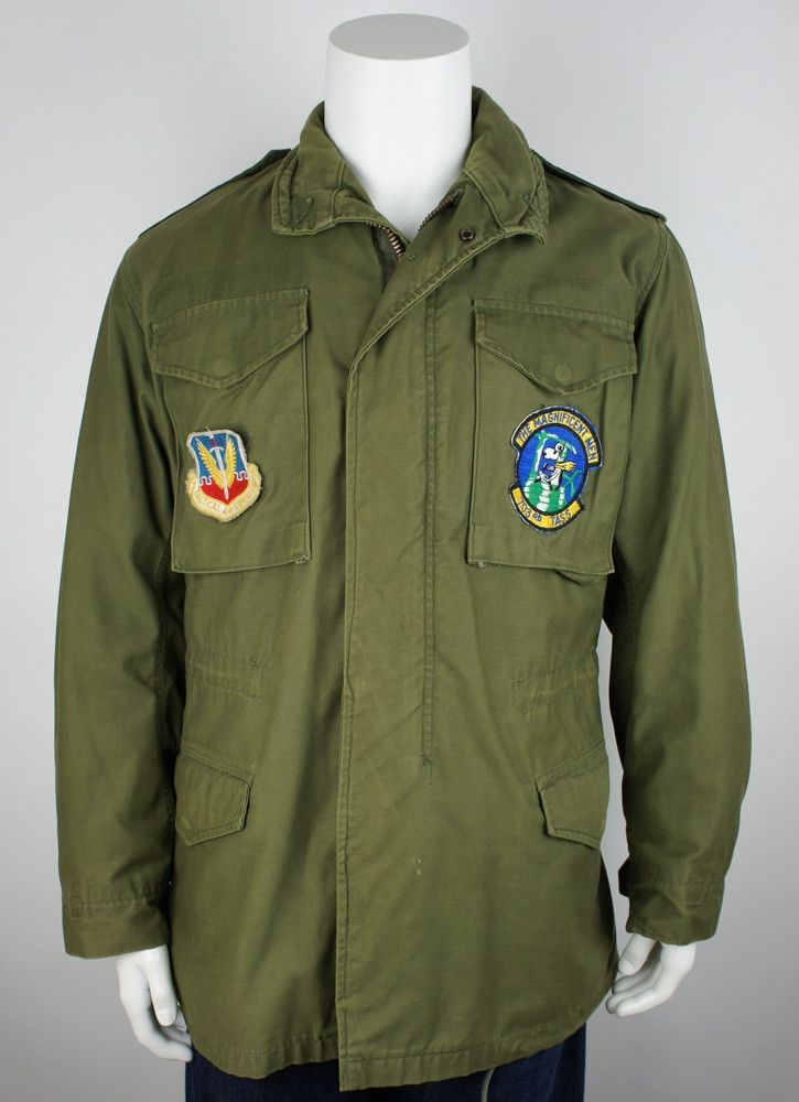 M-65 Jacket with Patches 1975   M 65   Pinterest   Jackets, Field ... e98301f9cb4