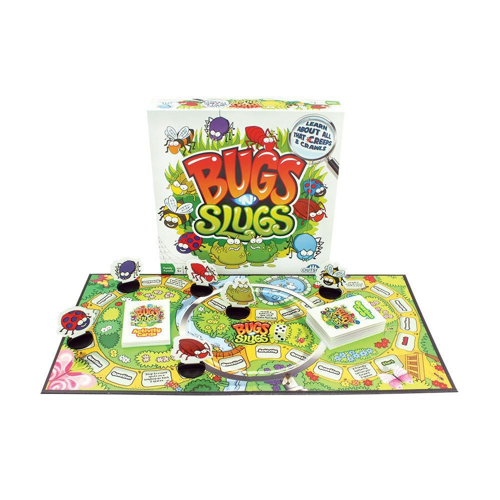 Bugs N Slugs Board Game In 2020 Bugs Board Games Board Games For Kids