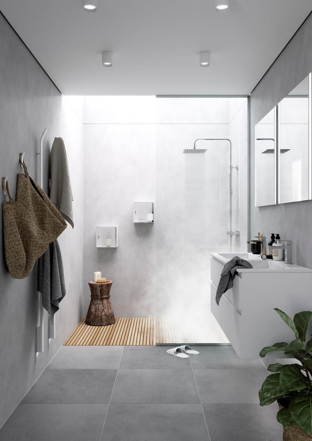 Baderominspirasjon In 2020 Badezimmer Innenausstattung Kleine Badezimmer Design Kleines Bad Gestalten