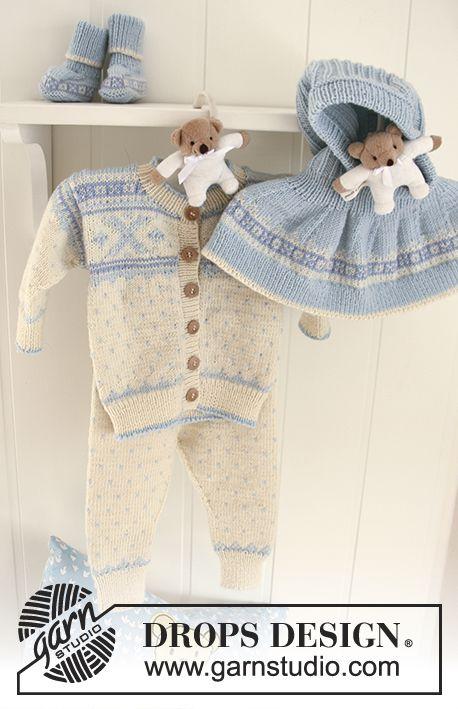Free Pattern | DROPS free baby patterns | Pinterest | Patrones ...