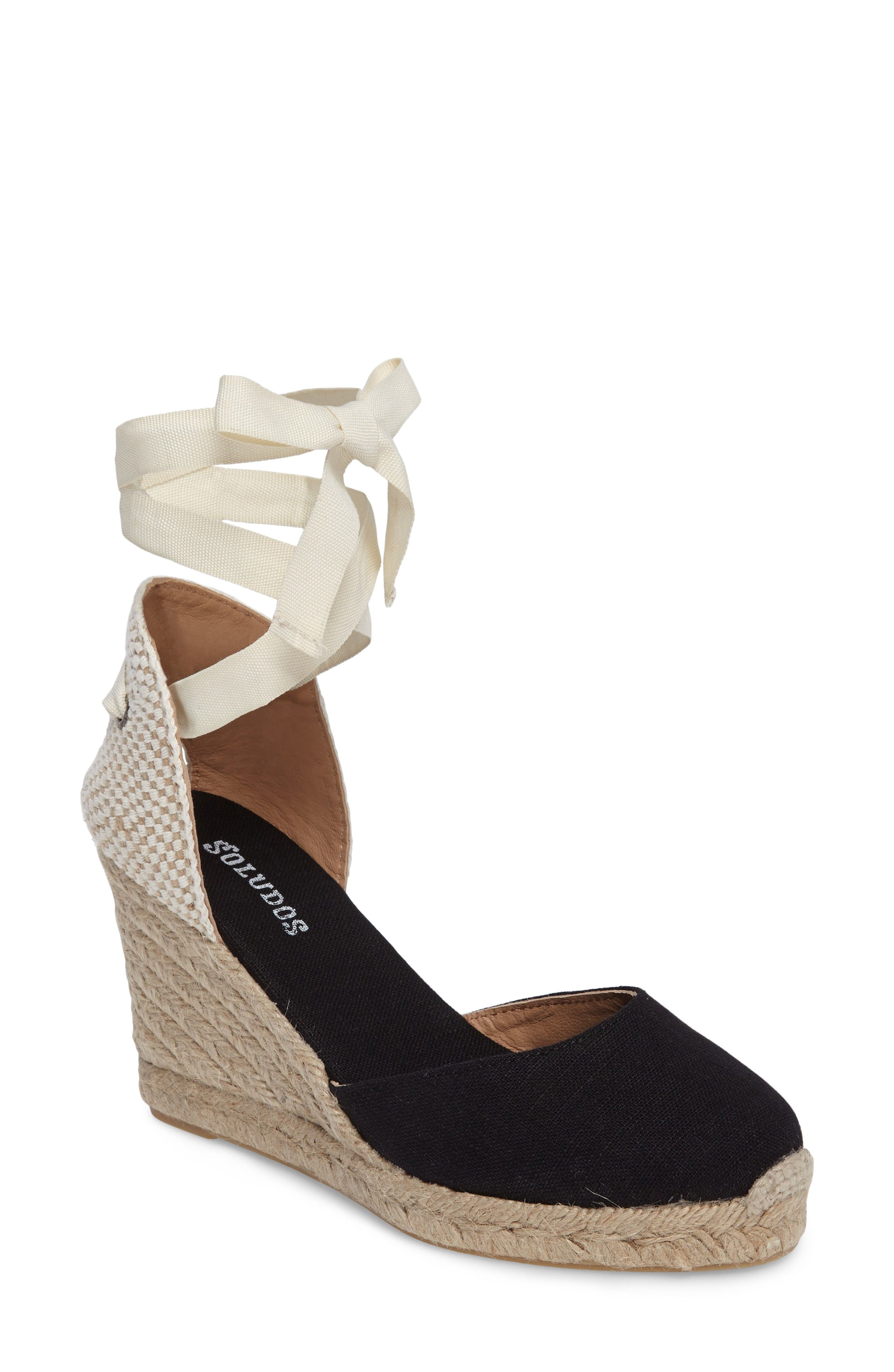 2bfee07e3d5c Wedge Lace-Up Espadrille Sandal