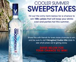 FREE Vikingfjord Vodka Prize Pack Sweepstakes