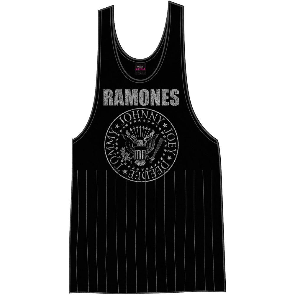 f71e6f7667f77 Ramones Ladies Tee Vest  Vintage Presidential Seal with Tassels Wholesale  Ref RATVT01LB