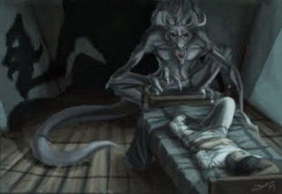 الجاثوم اسبابه وعلاجه Sleep Paralysis Sleep Paralysis Demon Astral Projection