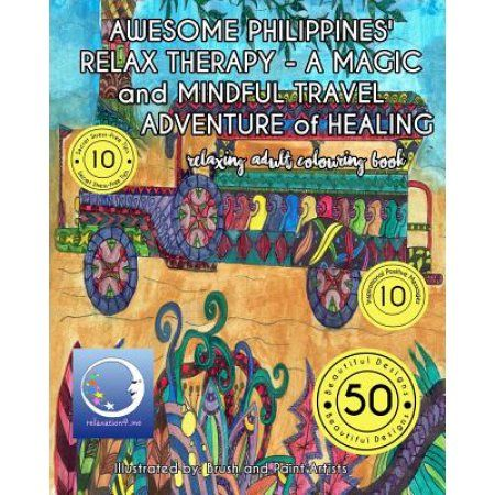 Relaxing Adult Coloring Book Awesome Philippines Relax Therapy