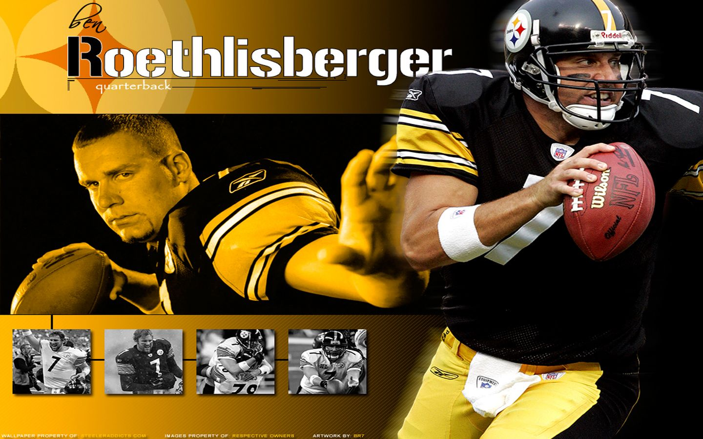 Nfl Wallpaper Ben Roethlisberger Wallpapers Pittsburgh Steelers Pittsburg Steelers Steelers