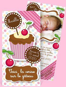 Faire-part naissance réf. N22101 chez monFairePart.com