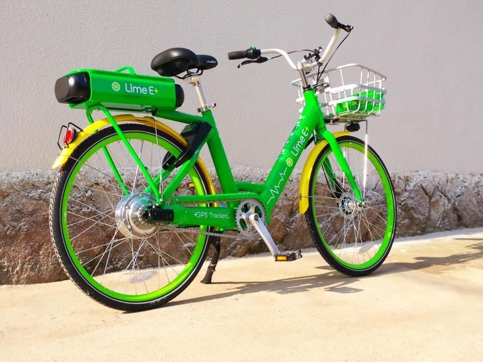 It will be electric bikes only for the lime rental program