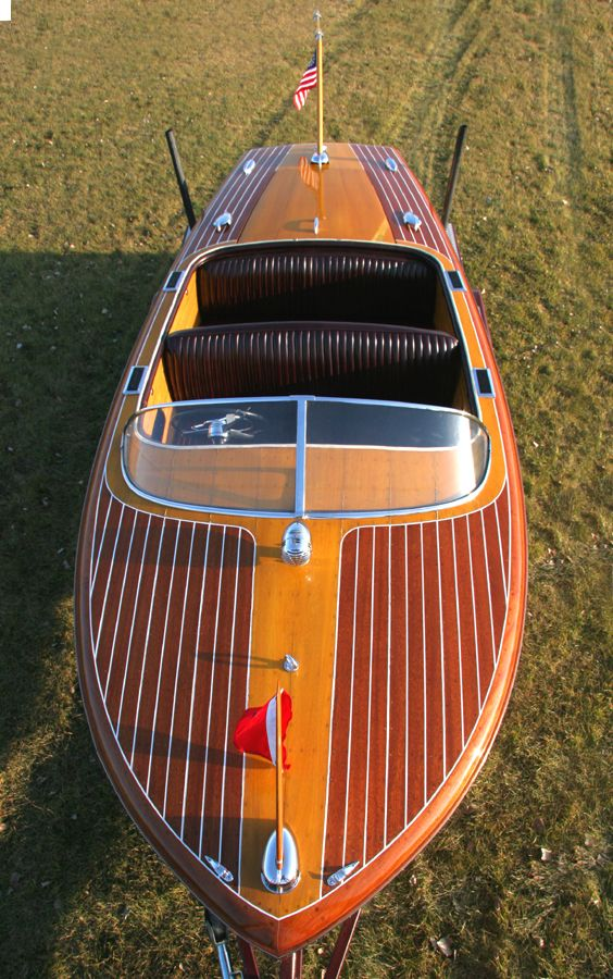 """Chris Craft Capri- boating in style. If this were mine I'd name it  """"Champagne dreams"""""""
