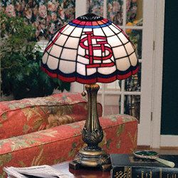 Superior St. Louis Cardinals Tiffany Table Lamp $129.99 Http://www.fansedge.