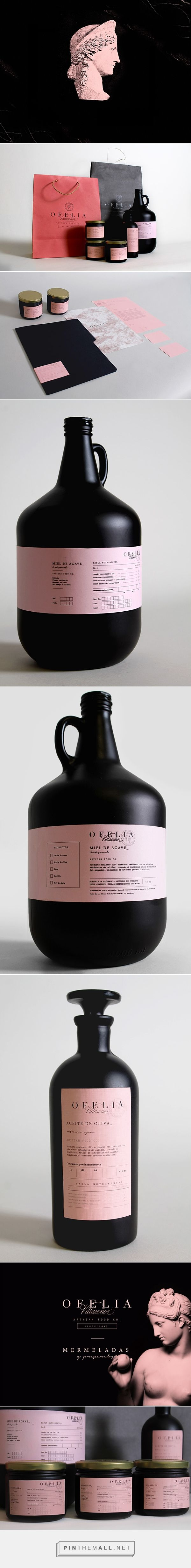 Ofelia Villaseñor on Behance by Daniel Barbra Guadalajara, Mexico curated by Packaging Diva PD. Branding & packaging design for a company that sells artisan food in México.