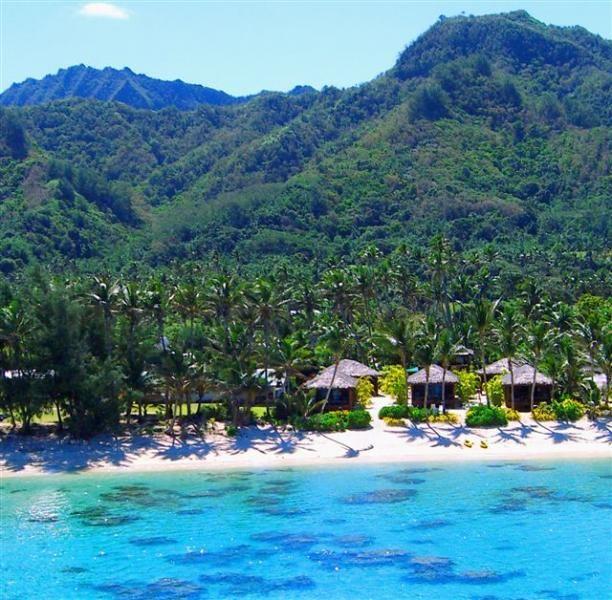 Cook Islands Beaches: Rarotonga Beach Bungalows, Cook