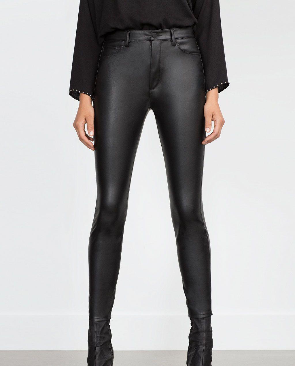 c02f5ff6cc Comprar Pantalones De Cuero Mujer – Sólo otra idea de imagen de ...