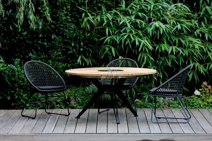 Niehoff Garden Gartentisch Nexor O 140 Cm Teak Holz In 2020