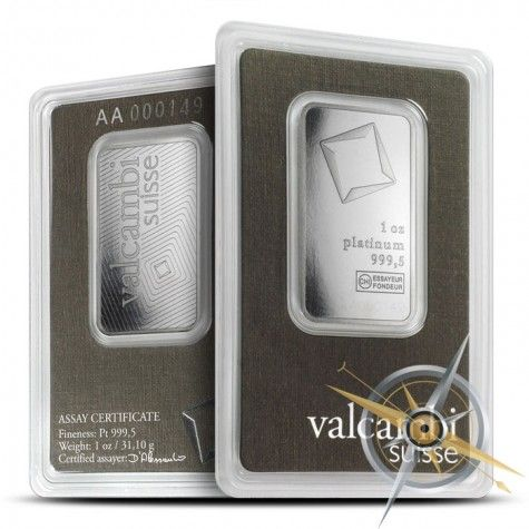 Valcambi 1 Oz Platinum Bar Platinum Gold Coins Things To Buy