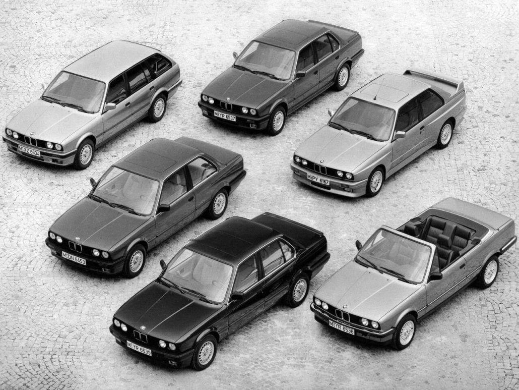 Famille Série 3 E30 Millésime 1988 photo BMW Bmw e30, E30