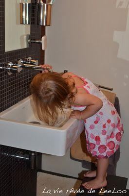 La vie rêvée de LeeLoo: Aide moi à faire par moi-même : Dans la salle de bain
