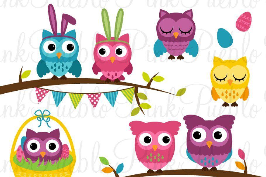 Easter Birds Clipart and Vectors – PinkPueblo