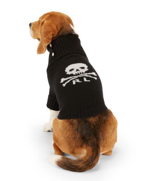 Skull Crossbones Dog Sweater Ralph Lauren Pet For The Pet