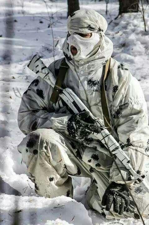 Армейские картинки на аву зима