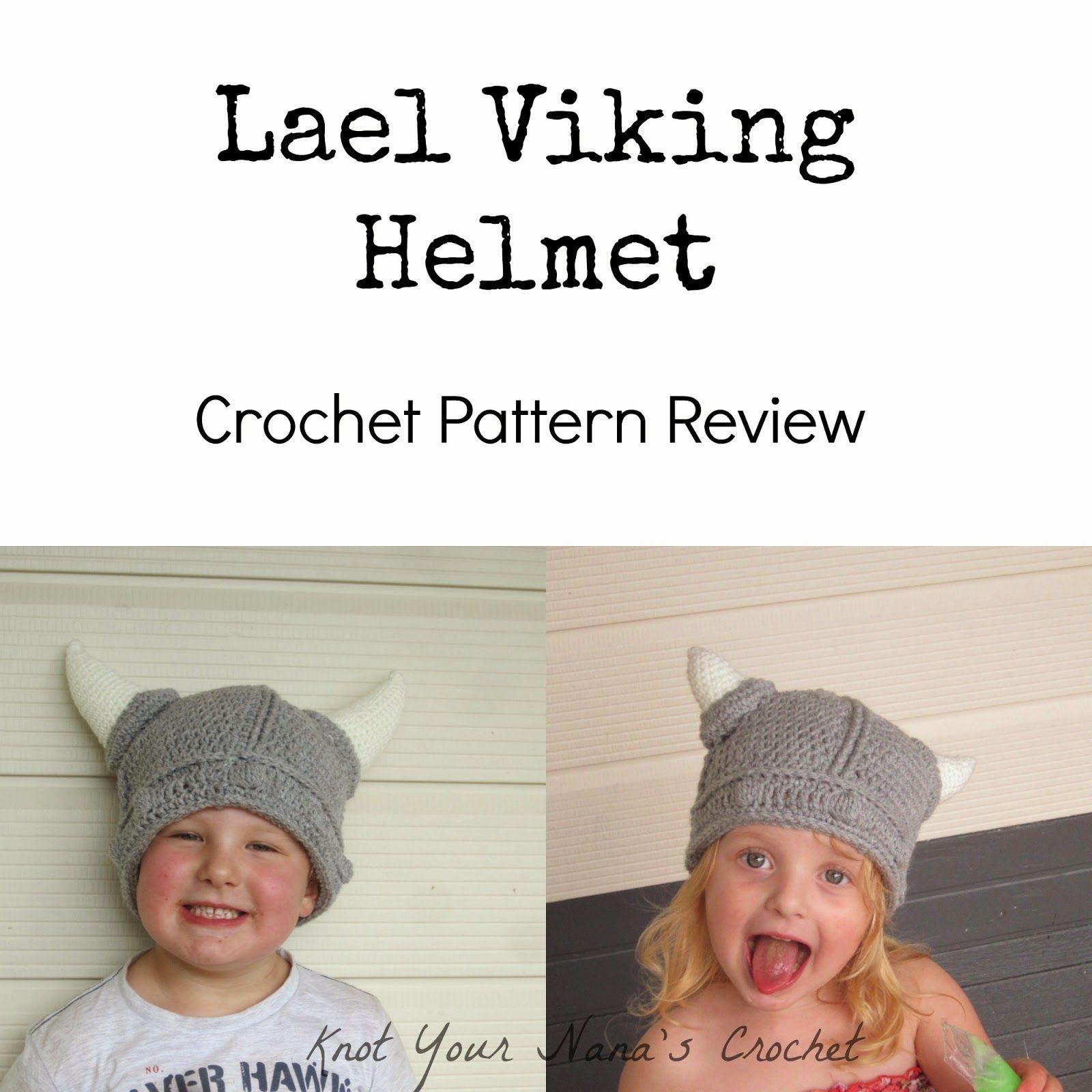 Contemporáneo Viking Patrón De Crochet Casco Modelo - Patrón de ...