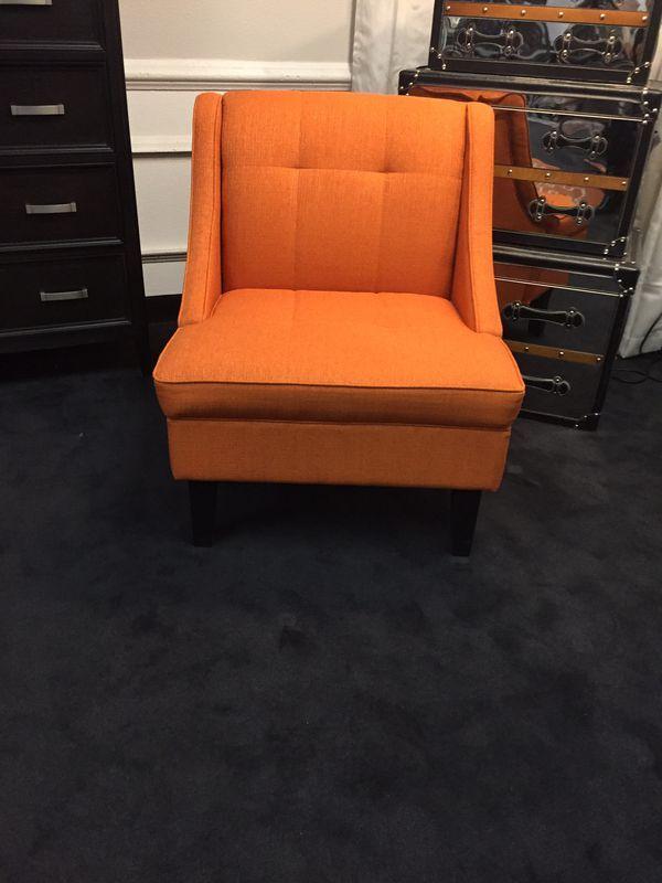 Fantastic Modern Orange Accent Chair For Sale In Phoenix Az Squirreltailoven Fun Painted Chair Ideas Images Squirreltailovenorg