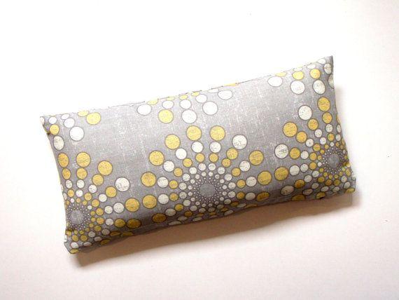 Decorative Grey Lumbar  8X16  Petite Lumbar by couchdwellers, $16.00
