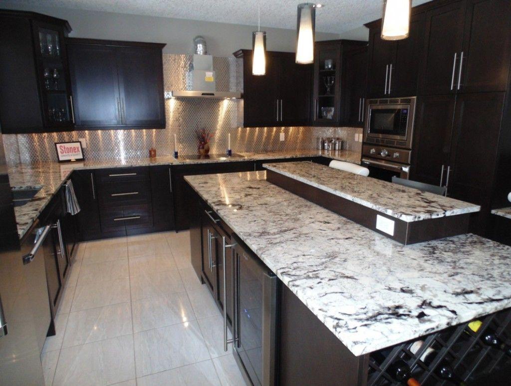 Image Result For Espresso Cabinets With Granite Espresso Kitchen