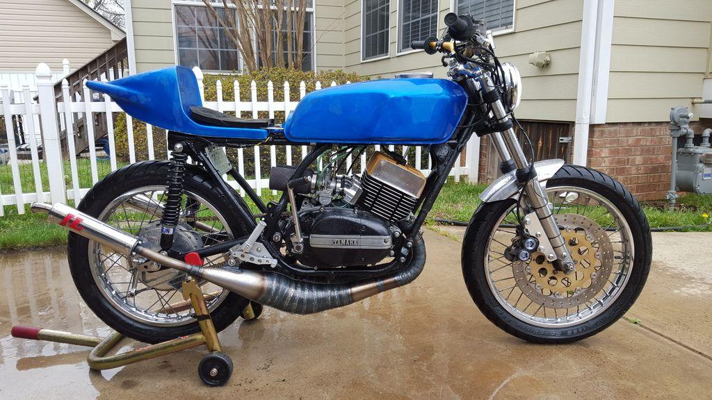 76 Yamaha RD400 / RD350 race bike cafe racer PROJECT
