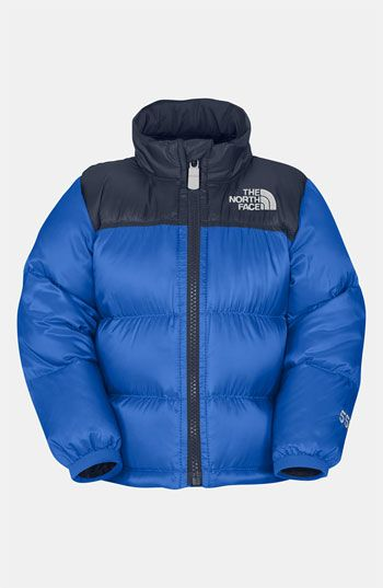 The North Face 'Nuptse - Throwback' Jacket (Infant) available at #Nordstrom. Case needs this!