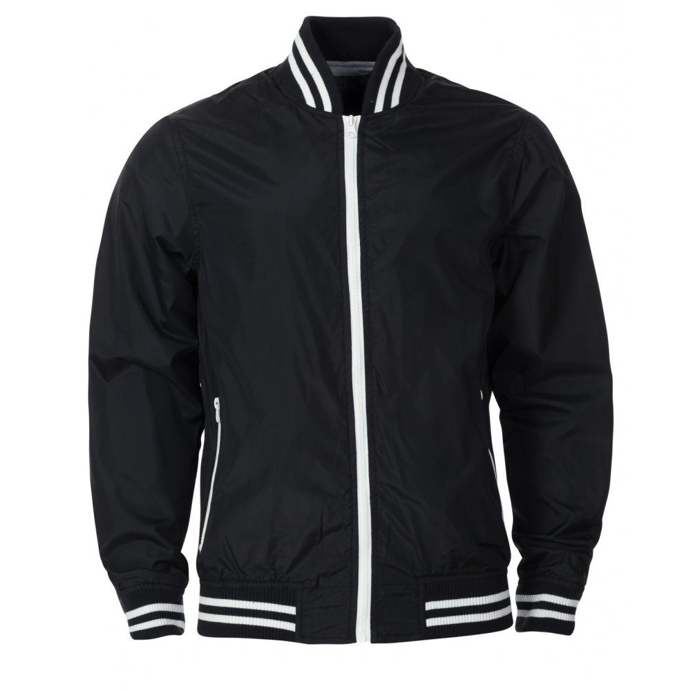 Blue Inc Mens Black Python Bomber Jacket | Street wear gear ...