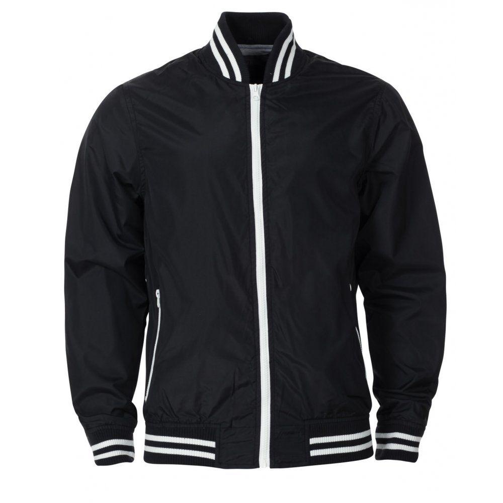 Blue Inc Mens Black Python Bomber Jacket | Street wear gear ...