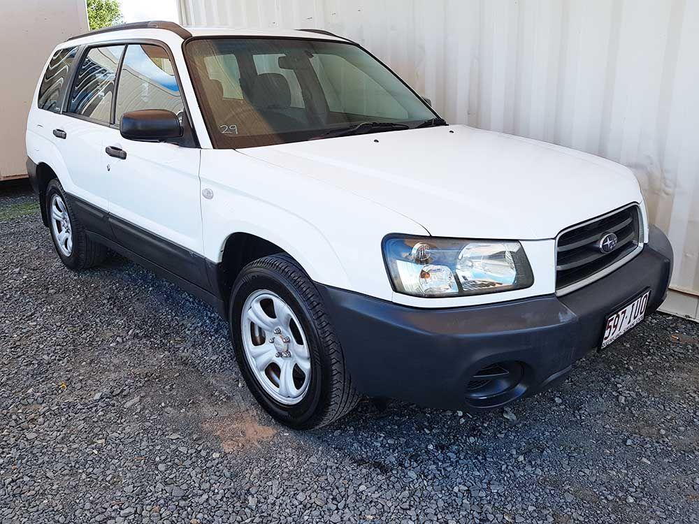 Subaru Forester X 2003 White For Sale 5,250 Subaru